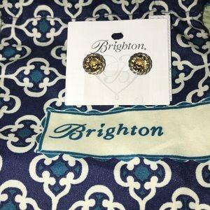 New Brighton Iris Topaz Earrings